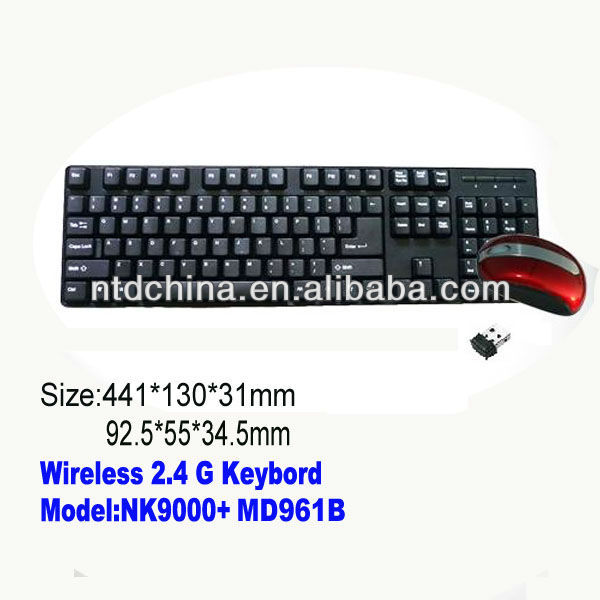 Tablet PC cheap wireless keyboard and mouse