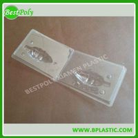 Plastic bulb blister packaging box