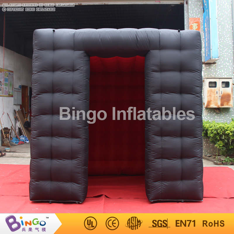 Inflatable Cube Photo Booth Kiosk Tent for Trade Show , Folding Display Booth Tent For Event