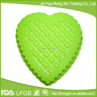 Love heart shape birthday cake mould silicone