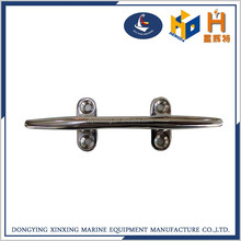 High quality ss316 boat marine hardware heavy ship open base cleat yacht flush cleat