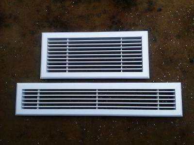 ABS window Adjustable Single Deflection Air Grille/Air Vent