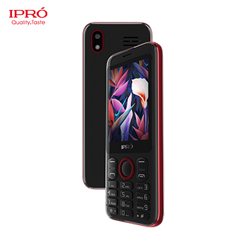 Ipro newest id cell phone with big keypad quad band