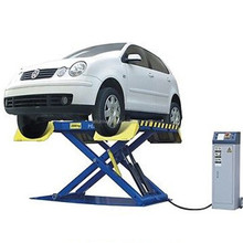 Durable Portable Scissor car lift used for auto repair equipment hydraulic vehicle hoist