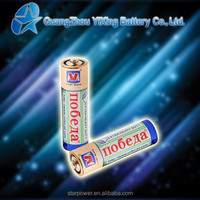 Size AA R6p dry cell non rechargeable battery