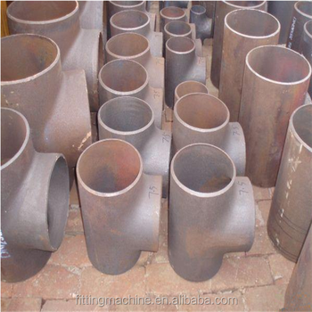 Factory Price Butt Welded Carbon Steel Tee Pipe Fitting