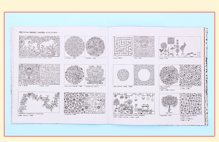 Secret Garden Customized Coloring Book With Crayons Adult