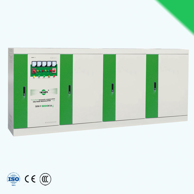voltage stabilizer SBW-F-2000kva input voltage range servo type adjustable voltage stabilizer