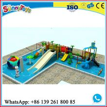 Safety kindergarten outdoor slide childrens large garden slide