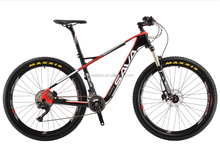 Hot on -sale china Full carbon fiber MTB bike,8000 group set and cheap carbon bicycle, complete carbon bike