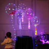Wedding party decoration Christmas helium air Latex LED Light up balloons