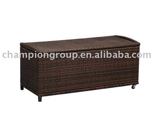 Outdoor furniture, wicker storage box.storage cabinet,rattan furniture