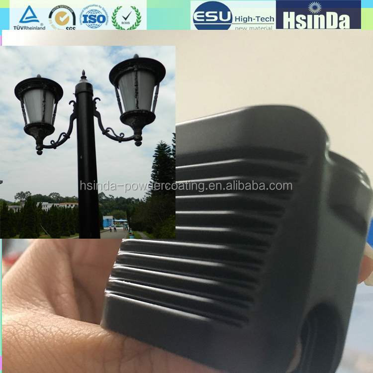 Pure polyester Road lamp powder paint Weather resistant lamp powder coating