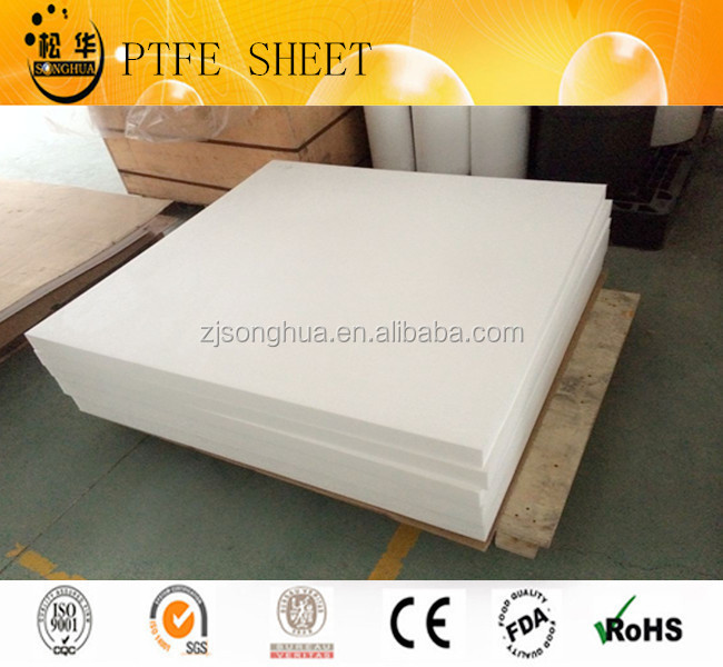 100% Virgin materials PTFE sheet