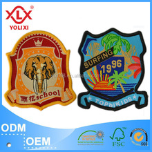 2015 high definition woven badge