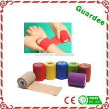 Colored Light Weight Flexible Cohesive Bandage
