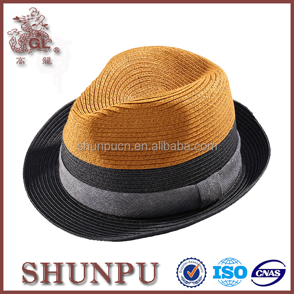 wholesale straw fedora hat