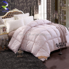 Warm Winter Solid Color Comforter Polyester White Quilt