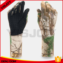 Custom Camo Fishing Gloves Anti-slip Outdoor Sport Hunting Camouflage Gloves for fishing