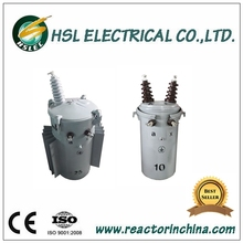 25kva single phase pole mounted oil immersed distribution transformer