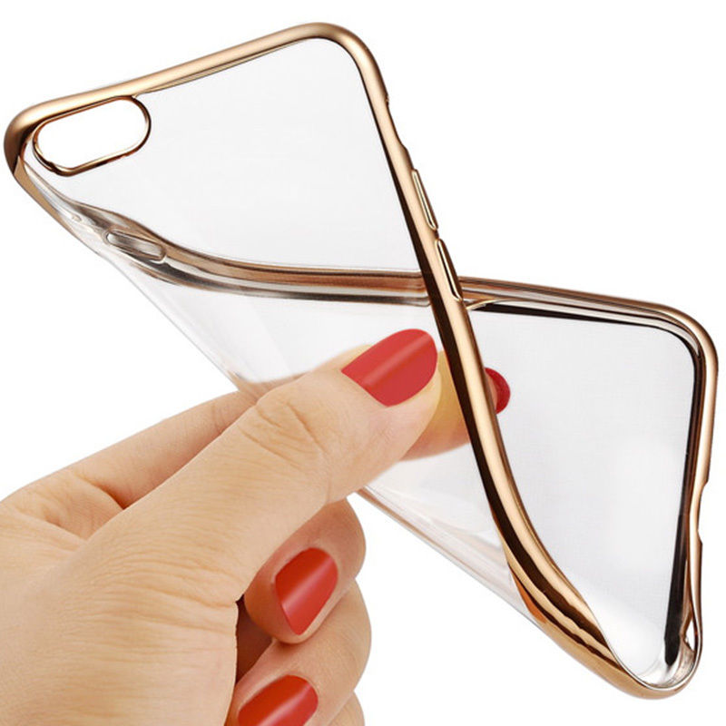high quality electroplate tpu for <strong>iPhone</strong> X Case, ultra-thin Plated TPU Phone back Case