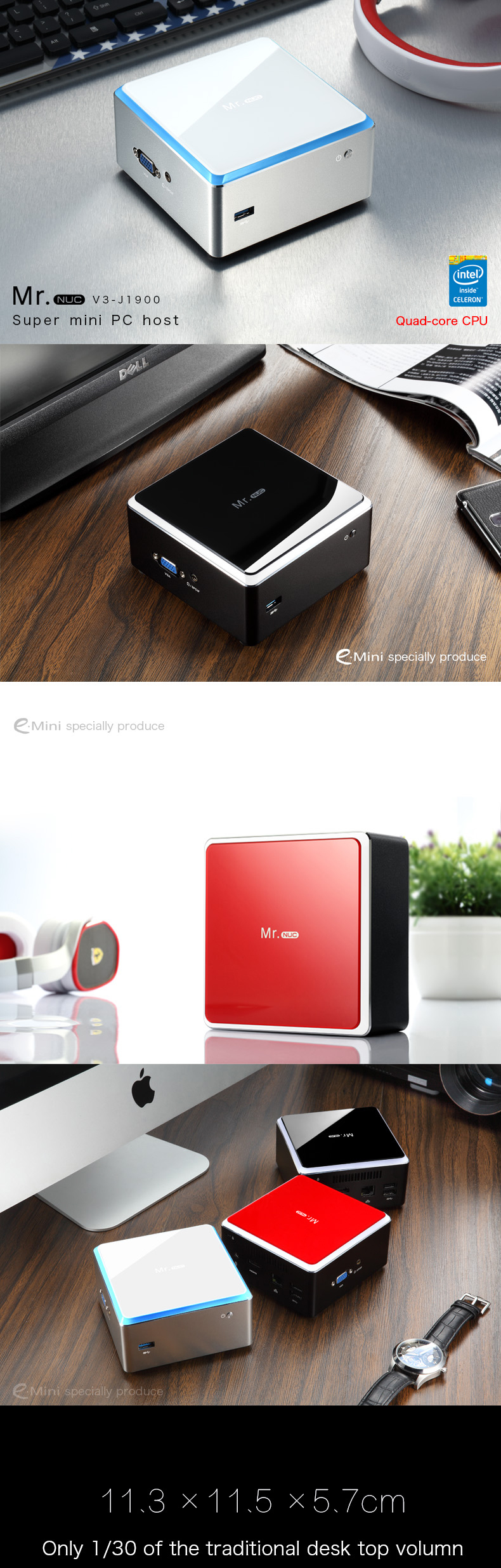 Cheap Fanless Mini PC Desktop