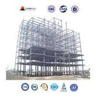 Long-span Prefabricated Engineering High Rise Steel Structure Building