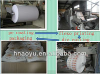 food grade PE coated paper cup paper/paper cup raw material