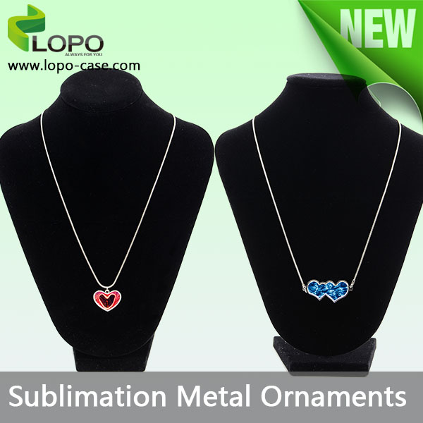 Charming Pendant Sublimation Necklace Jewelry ornaments blanks