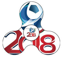 2018 Best Selling products World Cup Football Fidget hand spinner Soccer Sport Fingertip Gyro