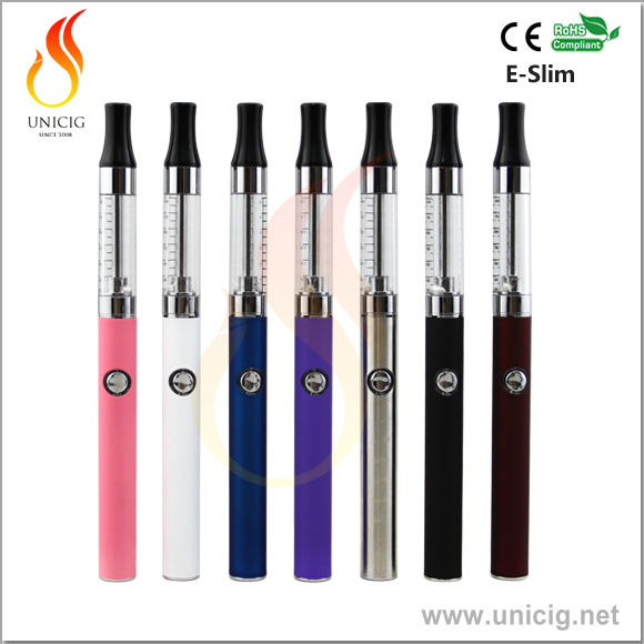 2014 Newest E-slim Electronic Cigarette custom vaporizer pen tanks