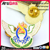 Custom metal custom eagle gold lapel pins