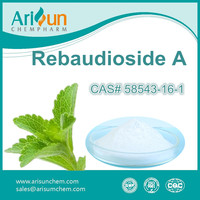 Factory Supply High Quality Stevia Extract Rebaudioside A 95%