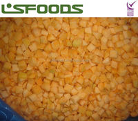 new crop frozen apricot dices
