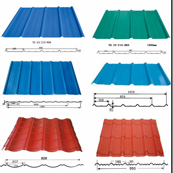 Galvanized Roofing Wall Sheet Full Hard Corrugated Steel