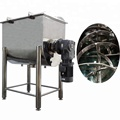 stainless steel horizontal ribbon dry powder blending machine