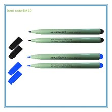 colorful and hot sell tattoo marker penTM10 with kearing brand,marking scribe pen