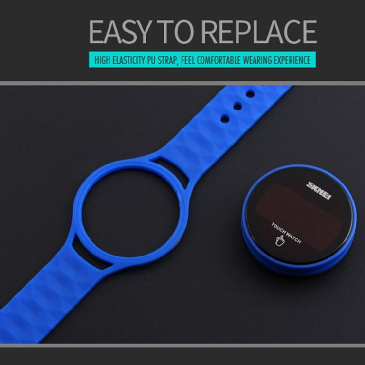 Special Watch jelly silicone sport watch touch screen cheaper price wathces #1176