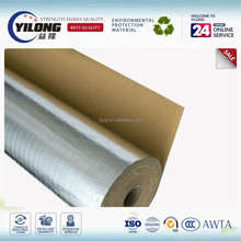 reflective thermal insulation fiber reinforced aluminum foil faced material