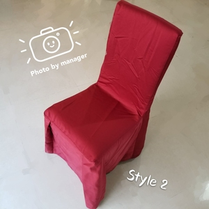 polyester cotton hotel wedding party banquet chair cover