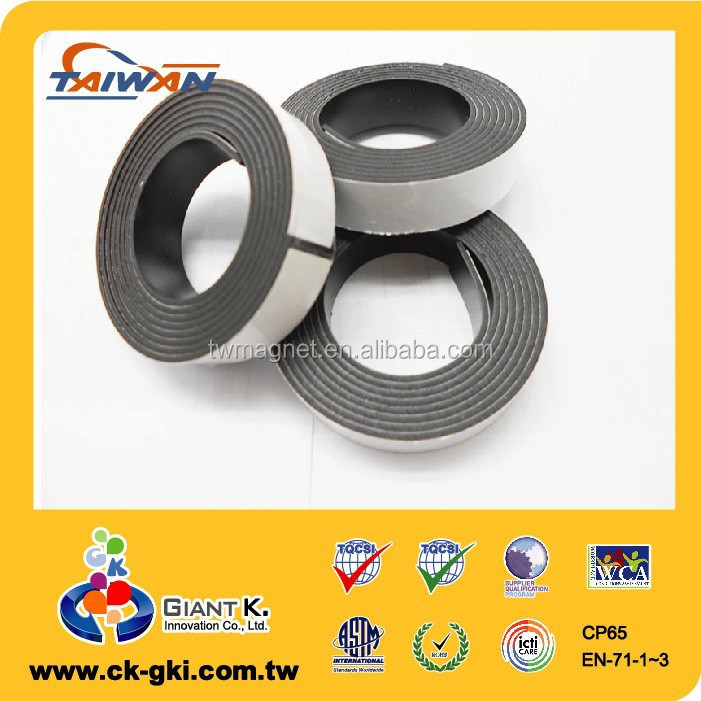 Magnetic strip magnetic tape with Self Adhesive