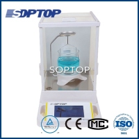 touch screen electronic density balance scale