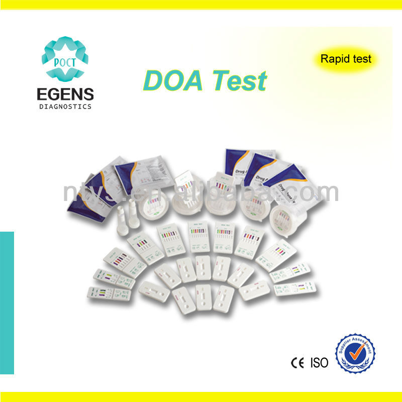 3-panel rapid test kit CE approved THC COC MOR
