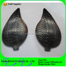 High Quality Wrought Iron Leaves/ Cast Iron Leaves Wholesale From Shijiazhuang