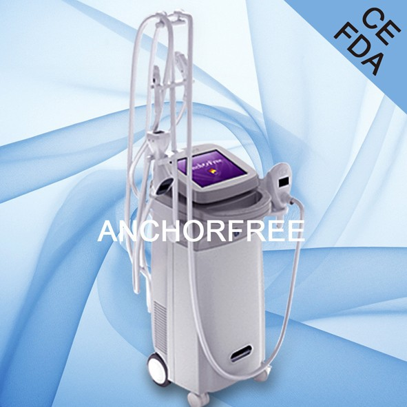 Lipo Fat Laser Slimming with Vacuum Suction+Infrared Laser+Bipolar RF+Roller Massage