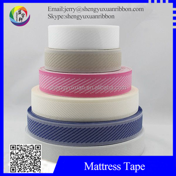 China supply mattress webbing edgeing strip(MT-W44)