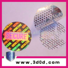 Customized anti-counterfeit Hologram label for pharmacy