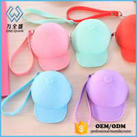 Silicone rubber squeeze jelly Promotion lovely pocket coin purse 2015