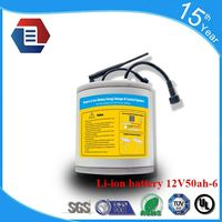 12V 10AH 20AH 30AH 40AH 50AH 60AH li ion rechargeable battery pack waterproof /12v 20ah/30ah/40ah/50ah
