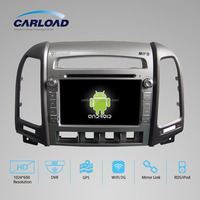 7in Touch Screen in dash double din car dvd for hyundai santa fe with GPS, iPOD, TV, RDS, Wifi, 3G, mirror functions